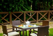 Lauko valgomojo baldų komplektas Adorazione
