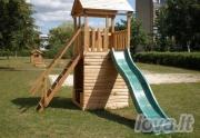 Vaikų žaidimo aikštelė Ozas 1 su sienele