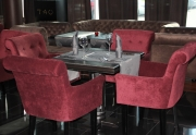 Restorano baldai (minkštos kėdės)