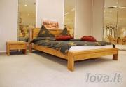 Ąžuolinė lova Klasika