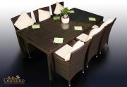Lauko valgomojo baldų komplektas Gustoso