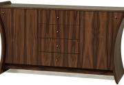 Dviejų durų komoda su stalčiais Embrace